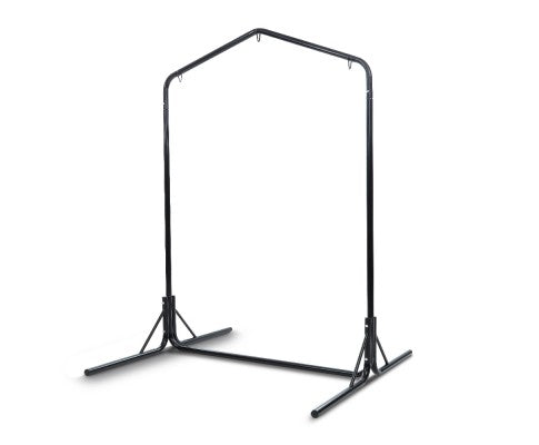 Gardeon Double Hammock Chair Stand Steel Frame 2 Person Outdoor Heavy Duty 200KG