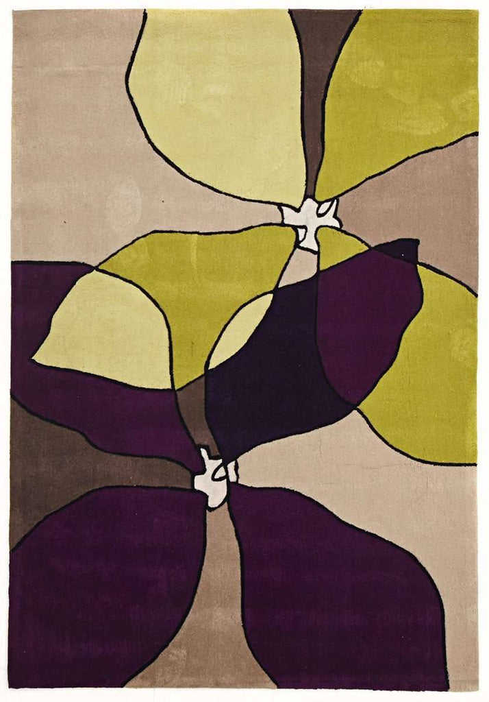 Gold Collection 618 Purple Rug