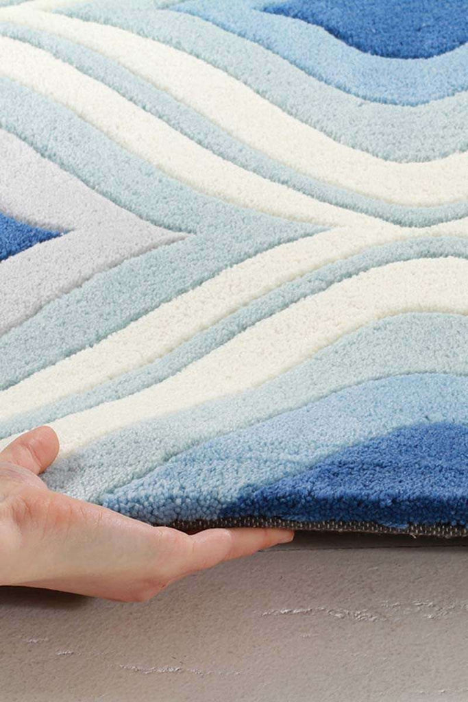 Gold Collection 629 Blue Rug