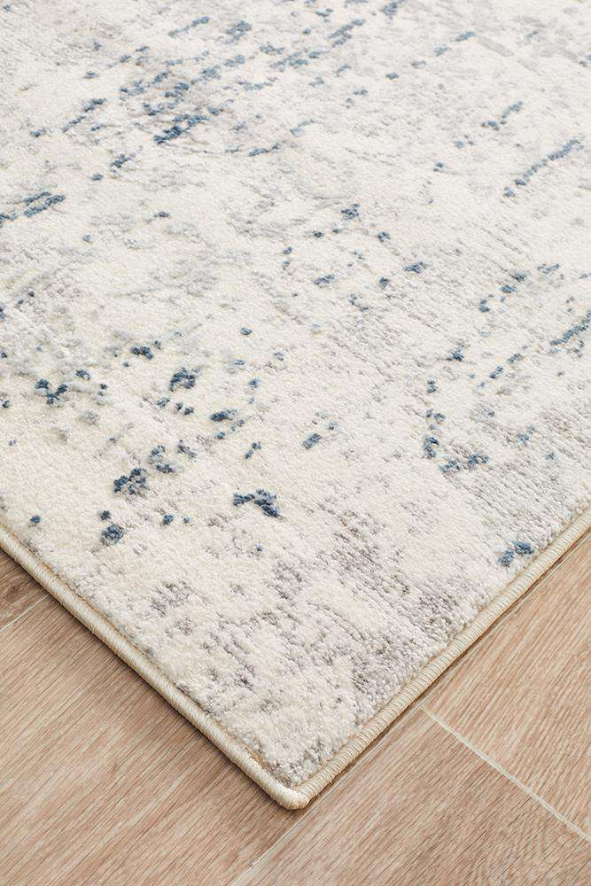 Kendra Farah Distressed Contemporary Runner Rug