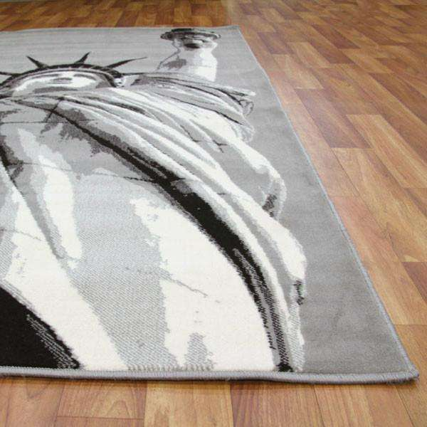Lounge Collection Grey Rug