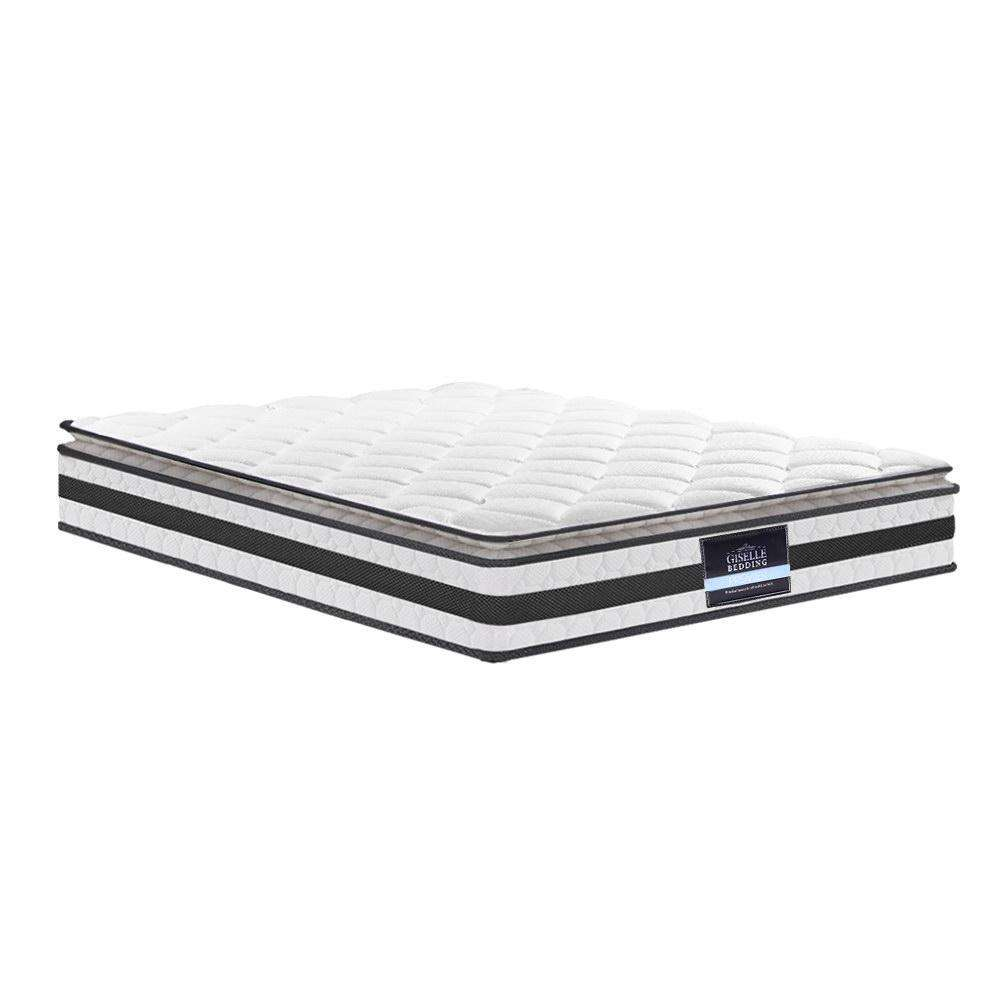 Giselle Bedding King Size Pillow Top Foam Mattress