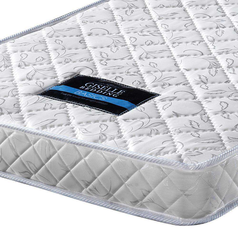Pocket Spring Mattress High Density Foam King Single - Desirable Home Living
