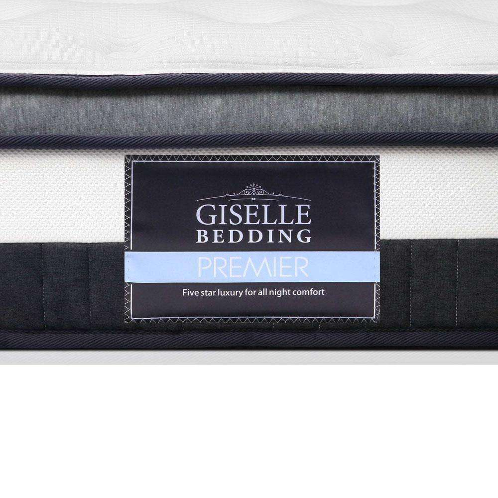 Giselle Bedding King Size Cashmere Spring Foam Mattress