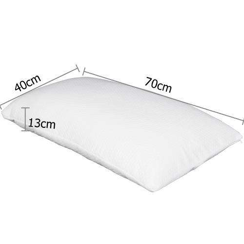 Set of 2 Deluxe Shredded Memory Foam Pillows - Desirable Home Living
