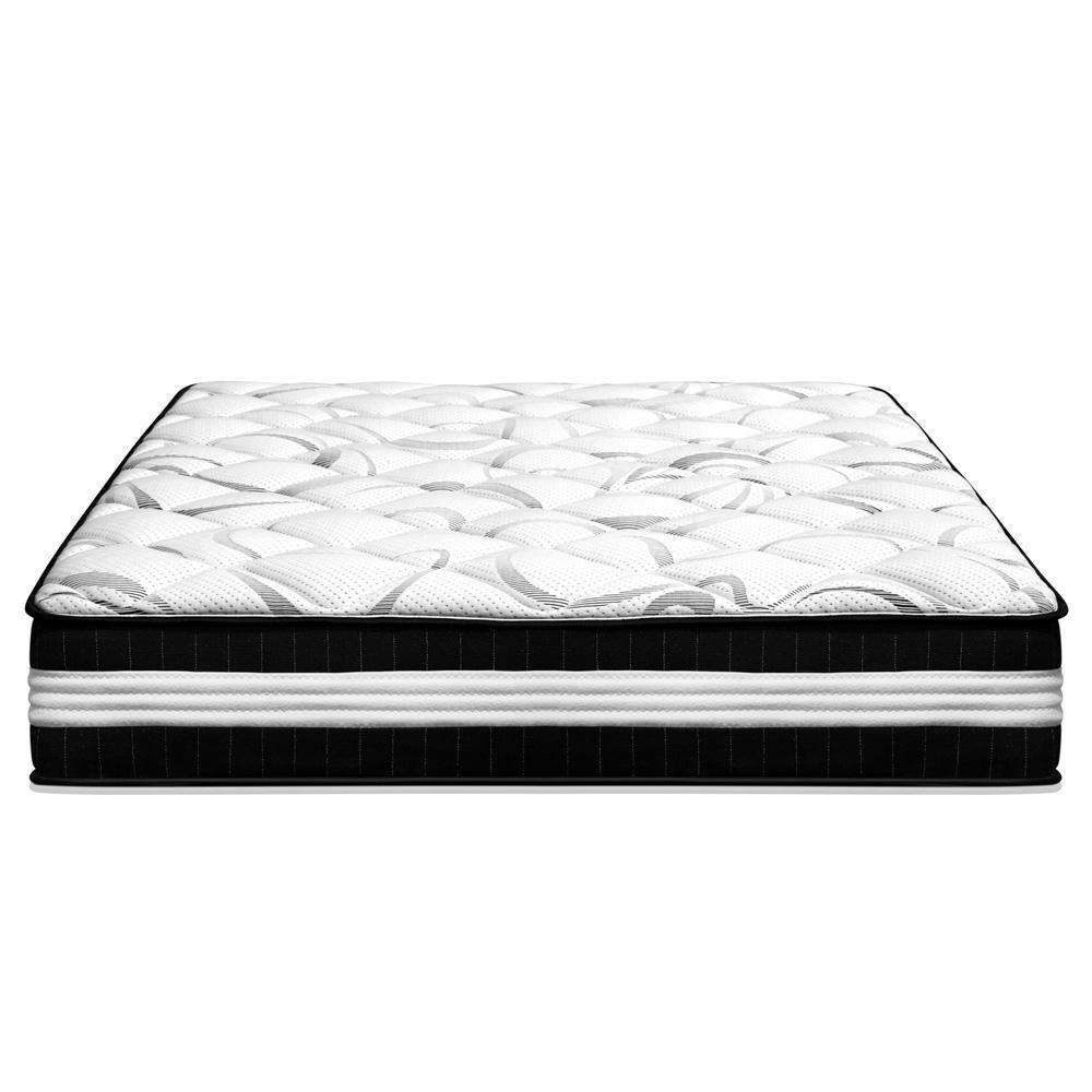 30CM Medium Firm Pocket Spring Mattress - Queen - Desirable Home Living