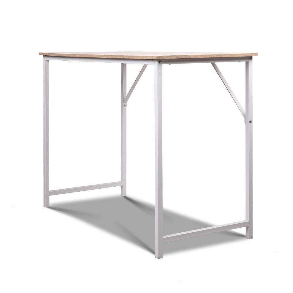 Artiss Minimalist Metal Desk - White