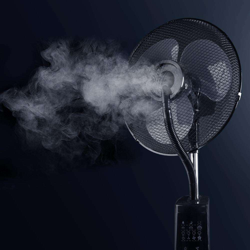 40cm Mist Fan with Remote Control - Desirable Home Living