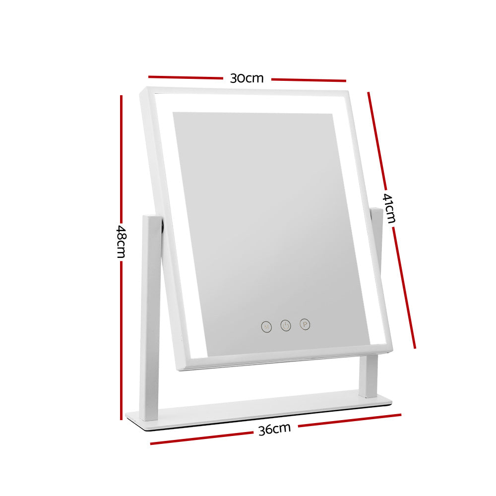 Embellir Hollywood Makeup Mirror with Dimmable Bulb Lighted Dressing Mirror