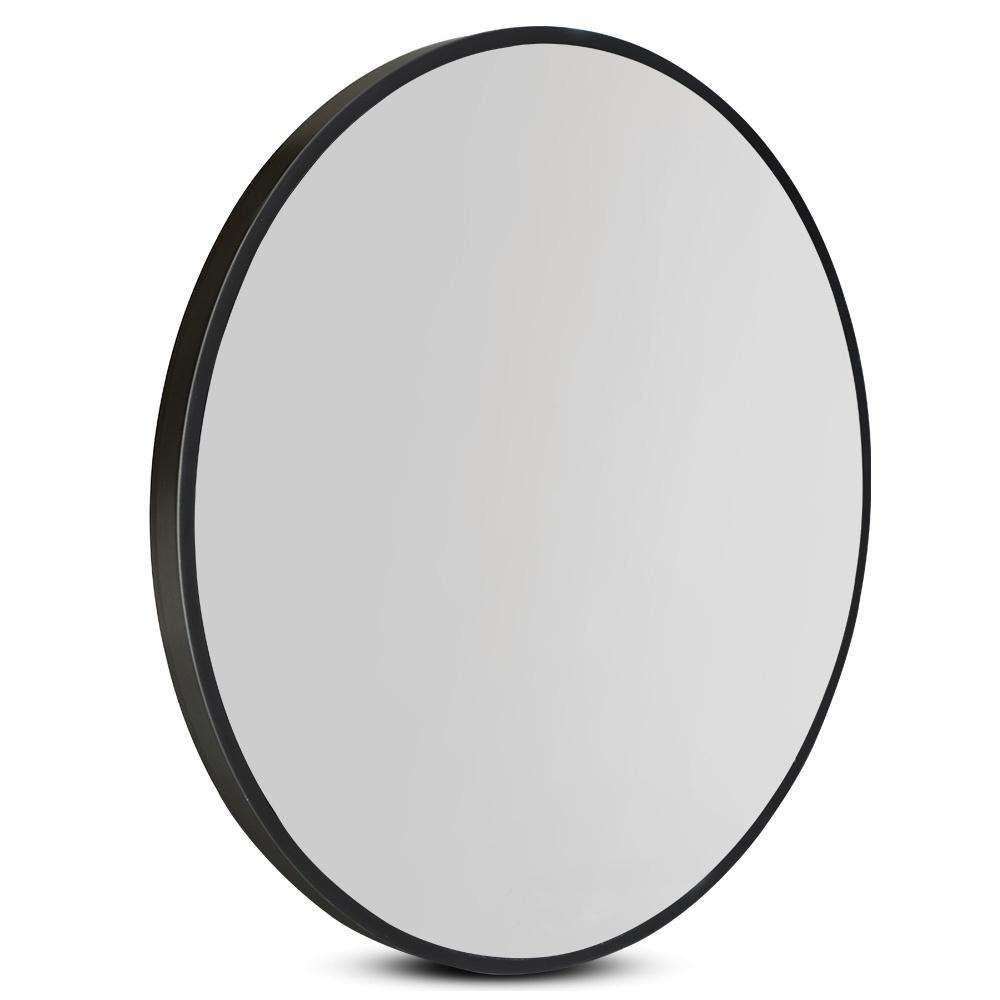 Embellir Round Wall Mirror 50cm Makeup Bathroom Mirror Frameless