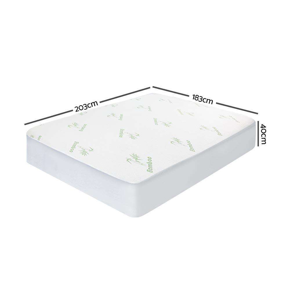 Giselle Bedding Bamboo Mattress Protector King