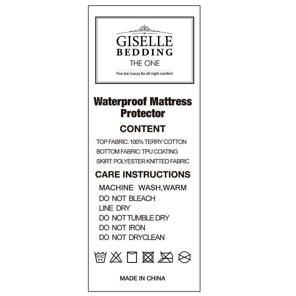 Waterproof Mattress Protector - Double - Desirable Home Living
