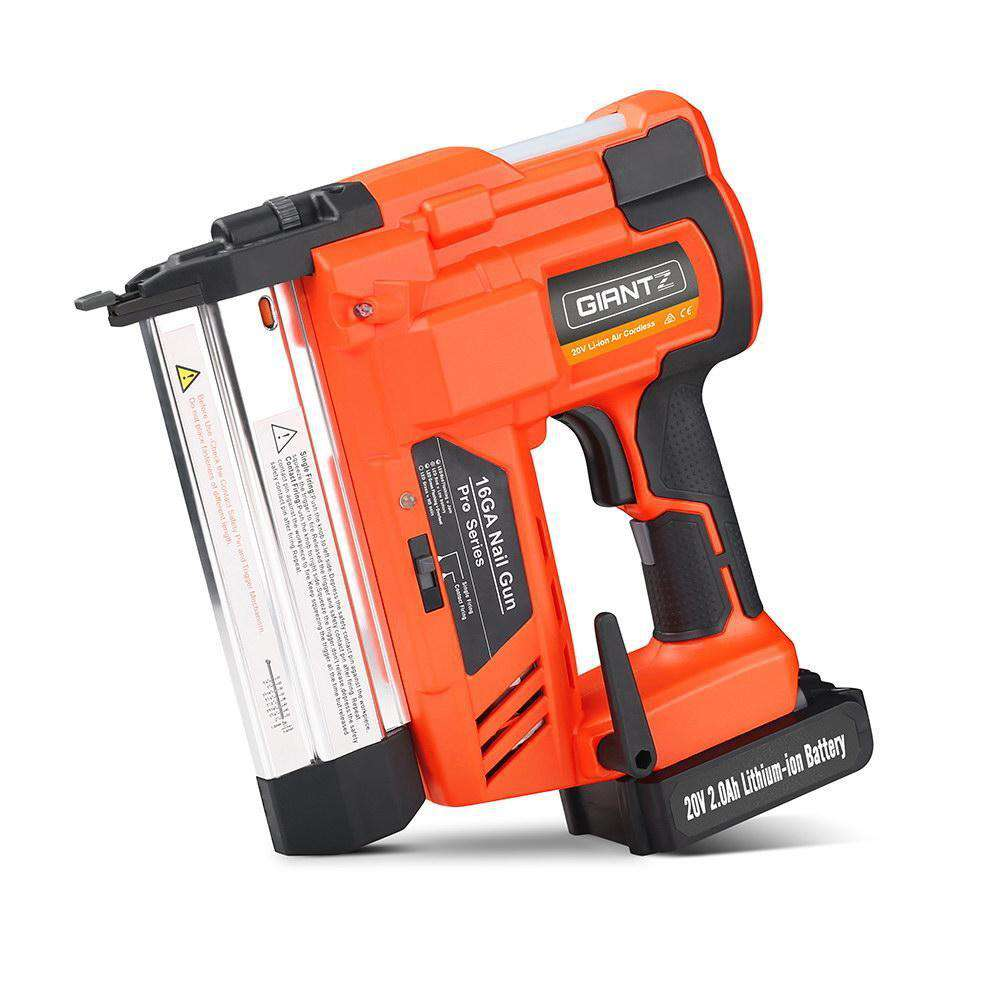 Giantz 2-in-1 Nail Gun with a Lithium Battery