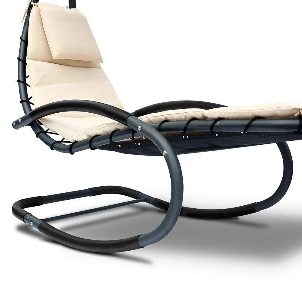 Hanging Chaise Lounge Chair - Desirable Home Living