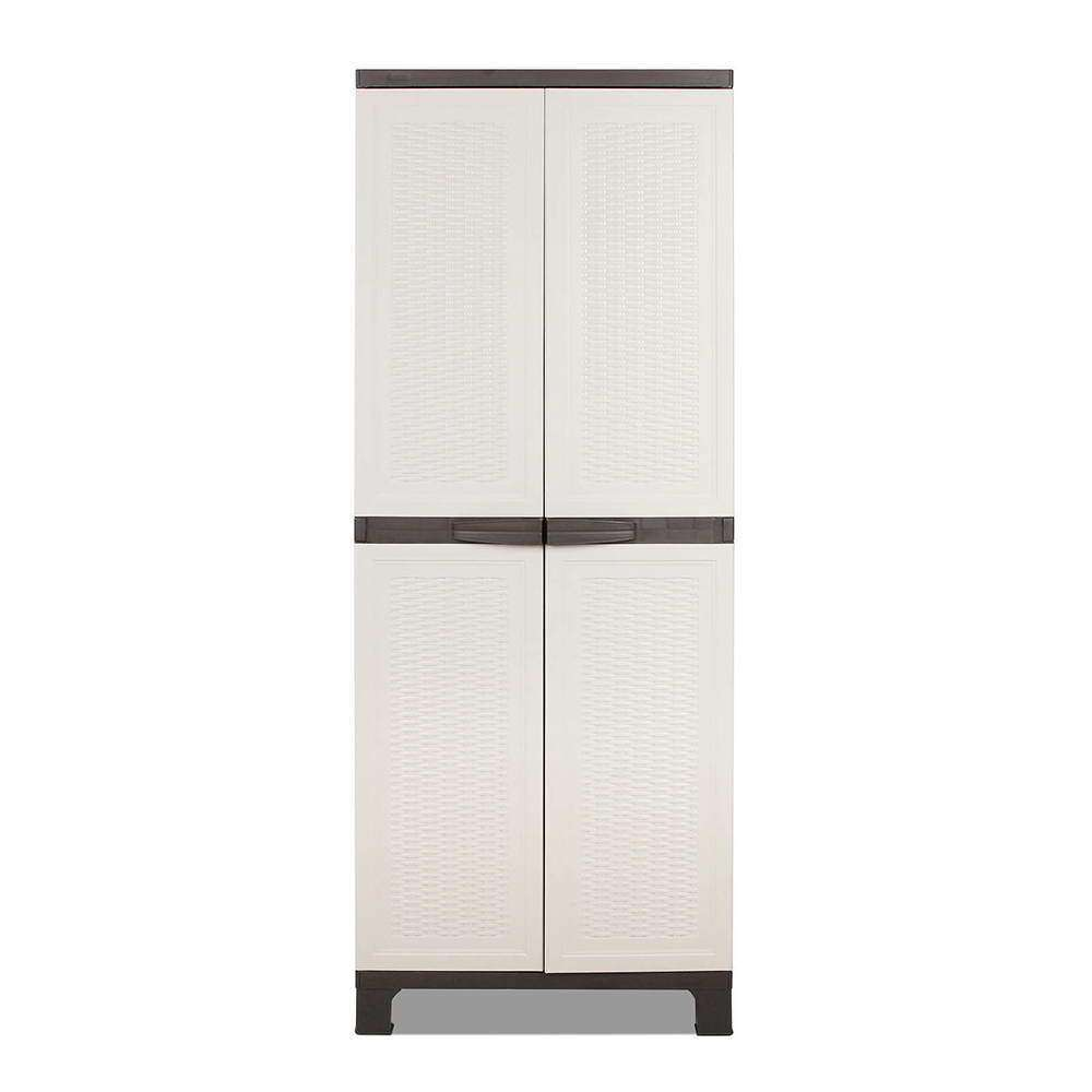 Outdoor Lockable Storage Cabinet - Desirable Home Living