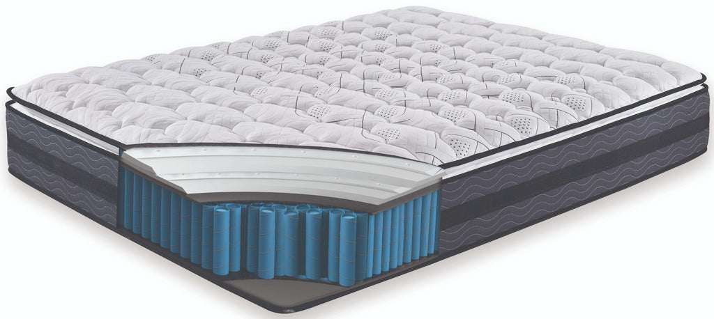 Memory Foam Pillow Top Pocket Spring Mattress - Single