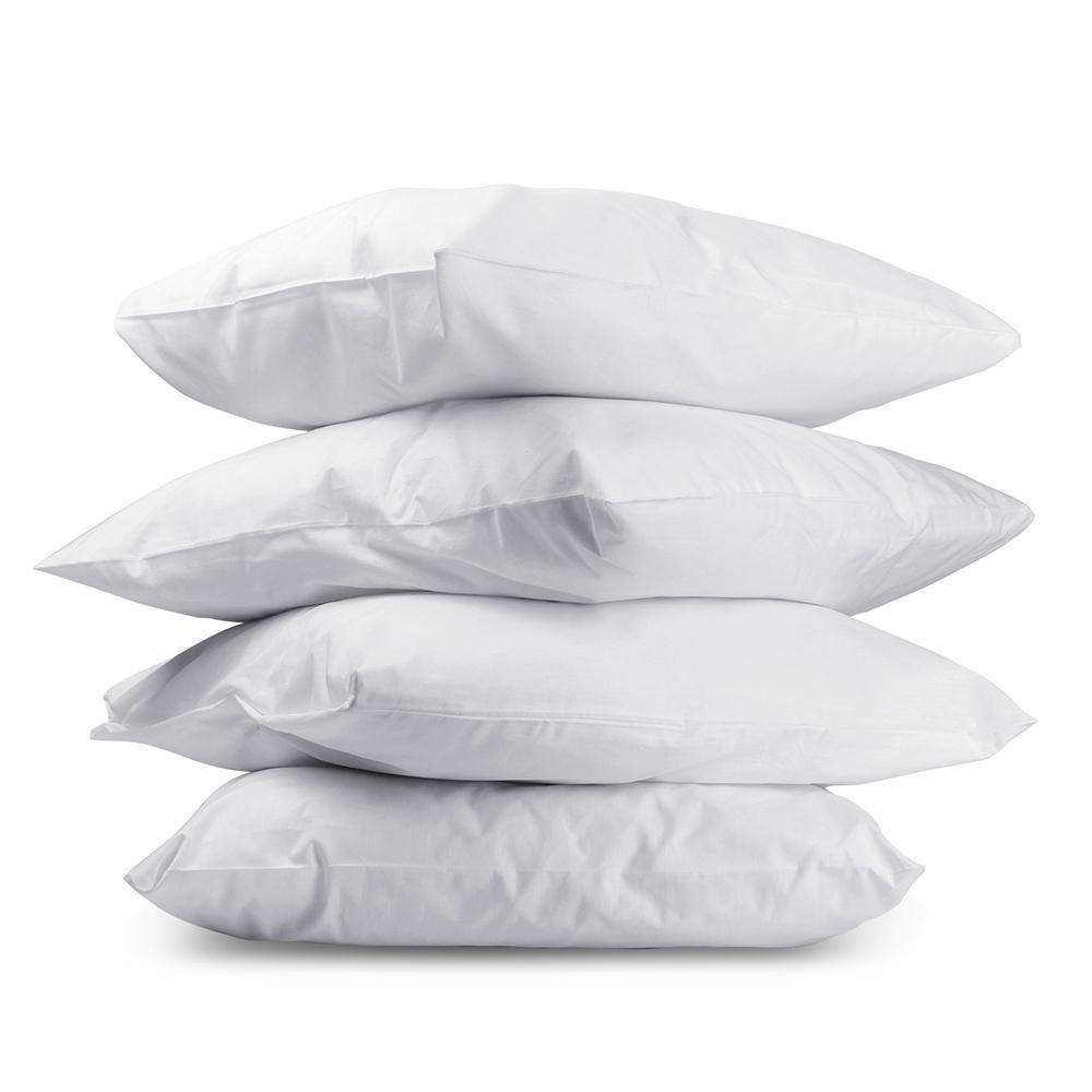 Set of 4 Pillows - 2 Firm & 2 Medium - Desirable Home Living