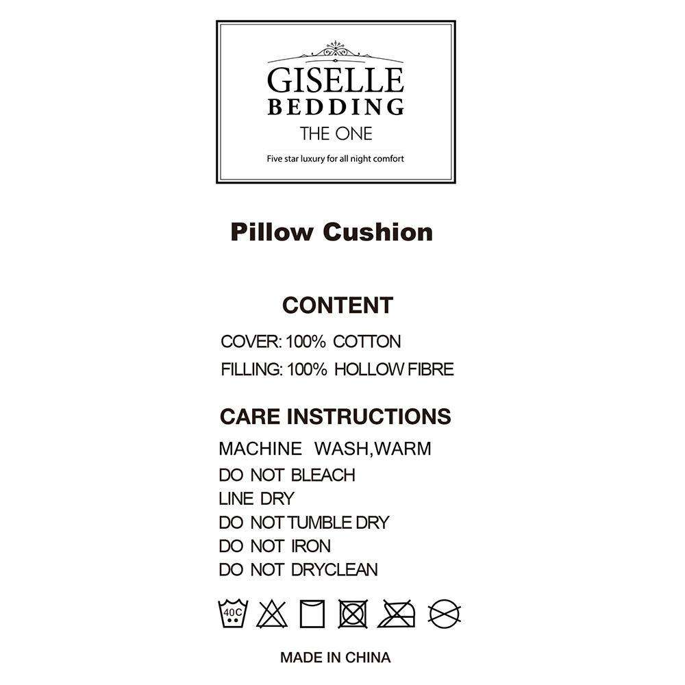 Set of 4 Pillows - 2 Soft & 2 Medium - Desirable Home Living