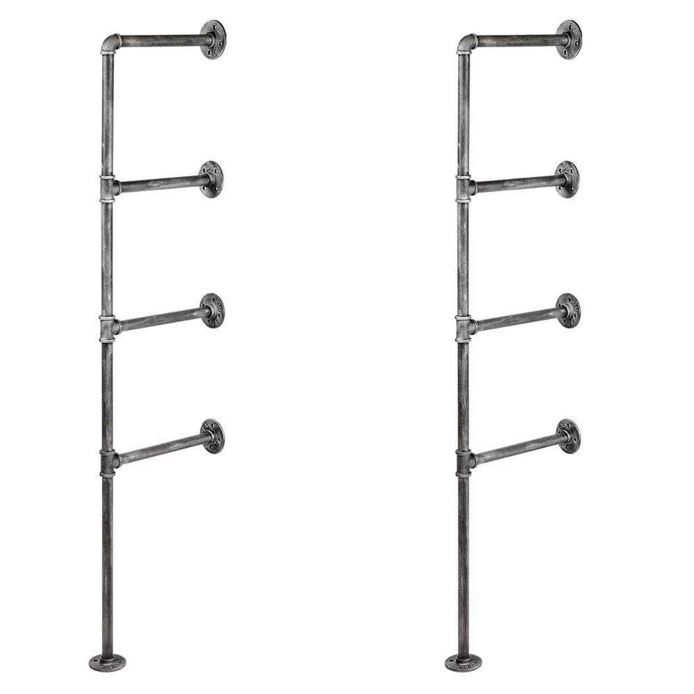Wall Mount Pipe Bracket Shelf – 141 CM - Desirable Home Living