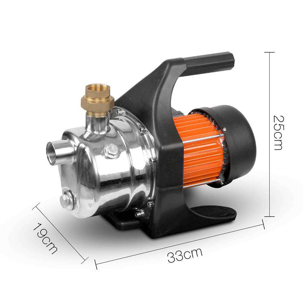 4320L/H Leak Proof Weatherproof Garden Pump - Desirable Home Living
