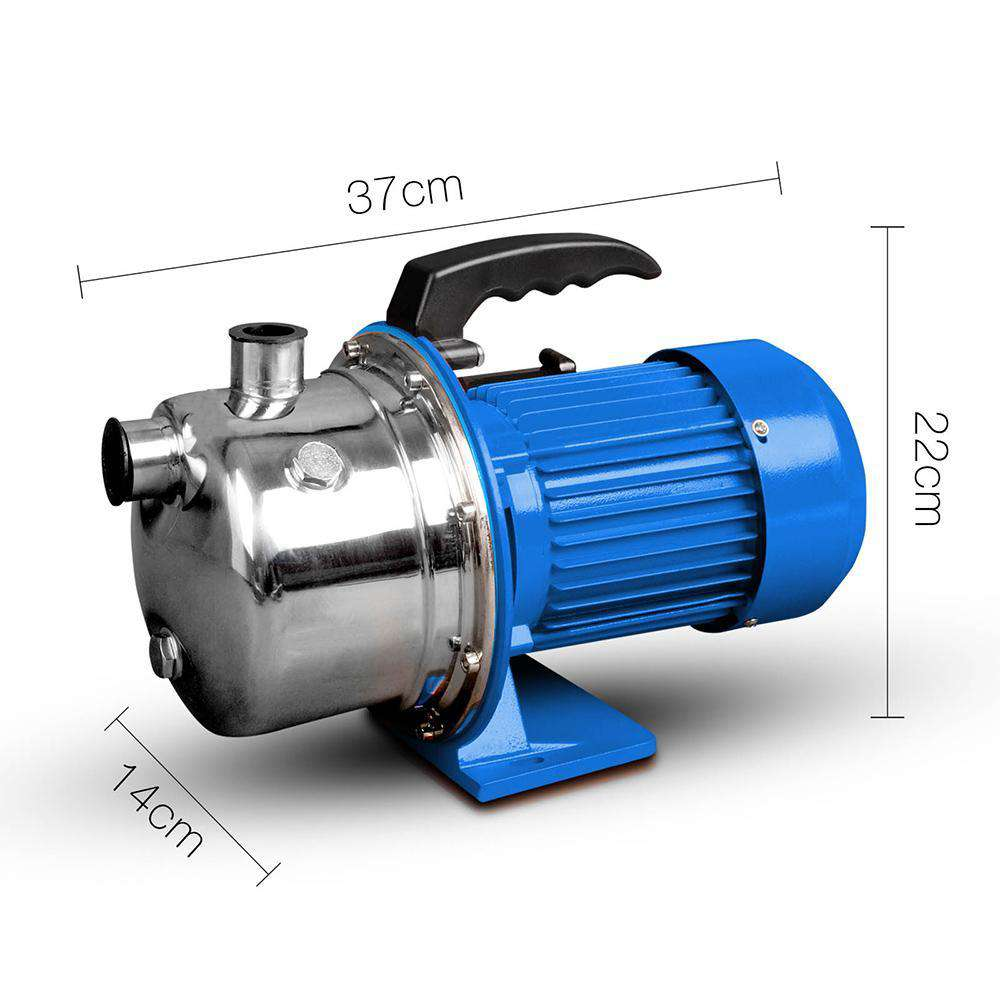 Stainless Steel Garden Jet Pump 7200L/H - Desirable Home Living