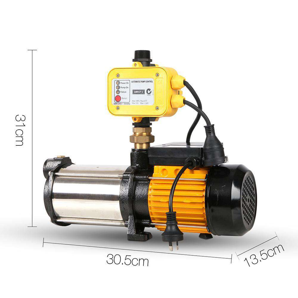 2000W  7200L/H Flow Rate Pressure Pump - Desirable Home Living