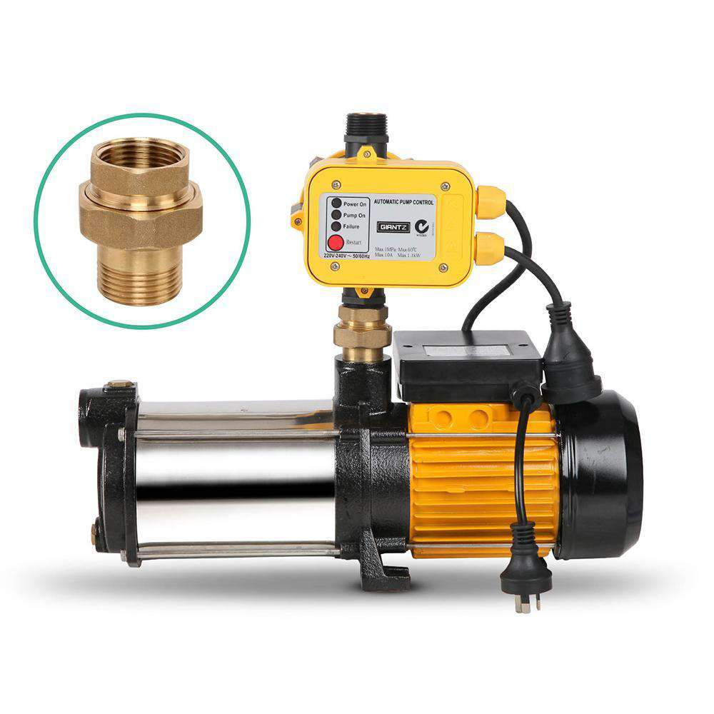 Weatherproof  2500W  9000L/H Flow Rate Pressure Pump - Desirable Home Living