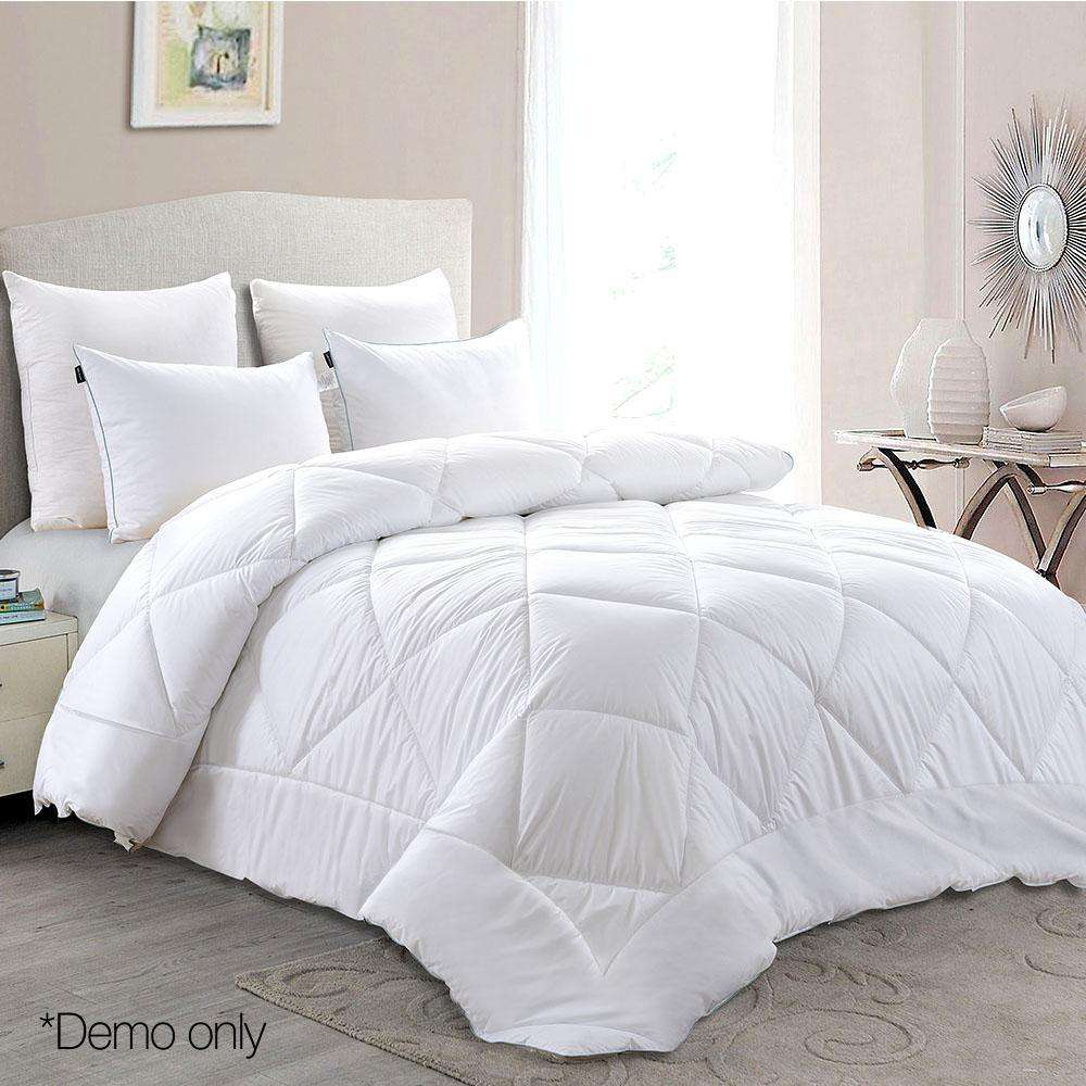 Giselle Bedding Super King Size 700GSM Bamboo Microfibre Quilt
