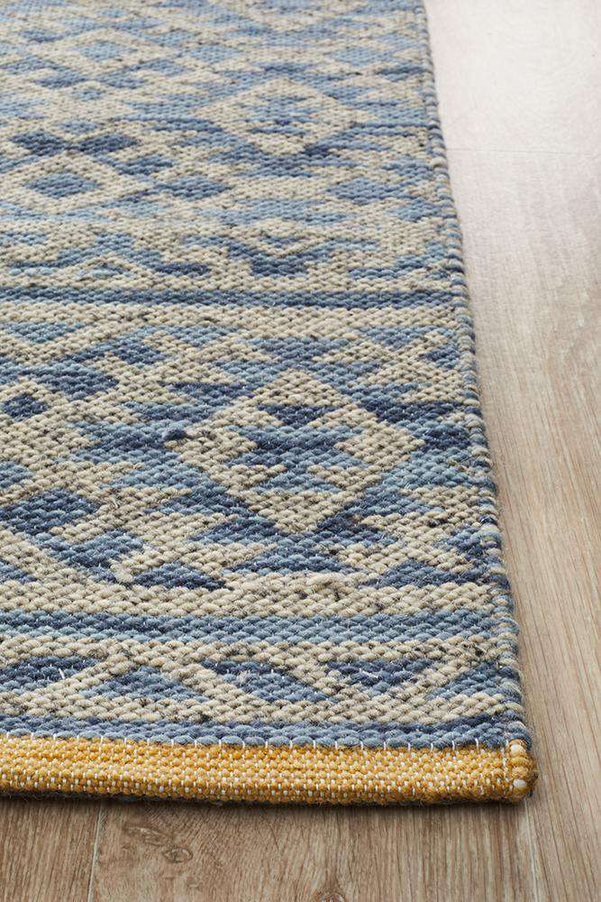 Relic Harvey Blue Natural Rug