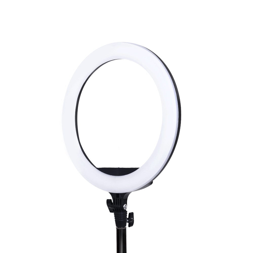 Embellir 14 LED Ring Light 5600K 3000LM Dimmable Stand MakeUp Studio Video""