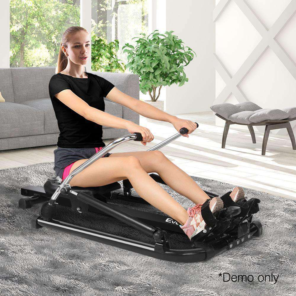 Rowing Machine with Oil Cylinder System - Desirable Home Living