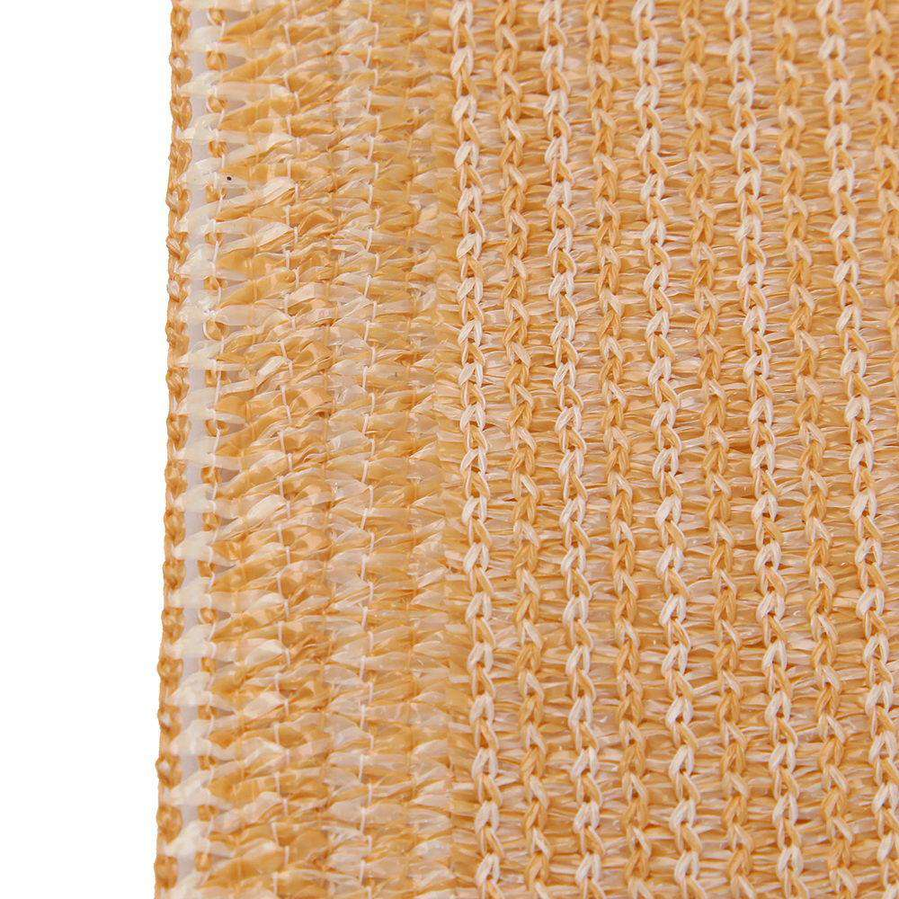 Instahut 70% UV Sun Shade Cloth Shadecloth Sail Roll Mesh Garden Outdoor 1.83x50m Beige