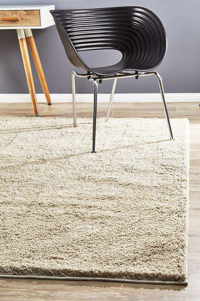 Soho Awesome Shag Rug Cream