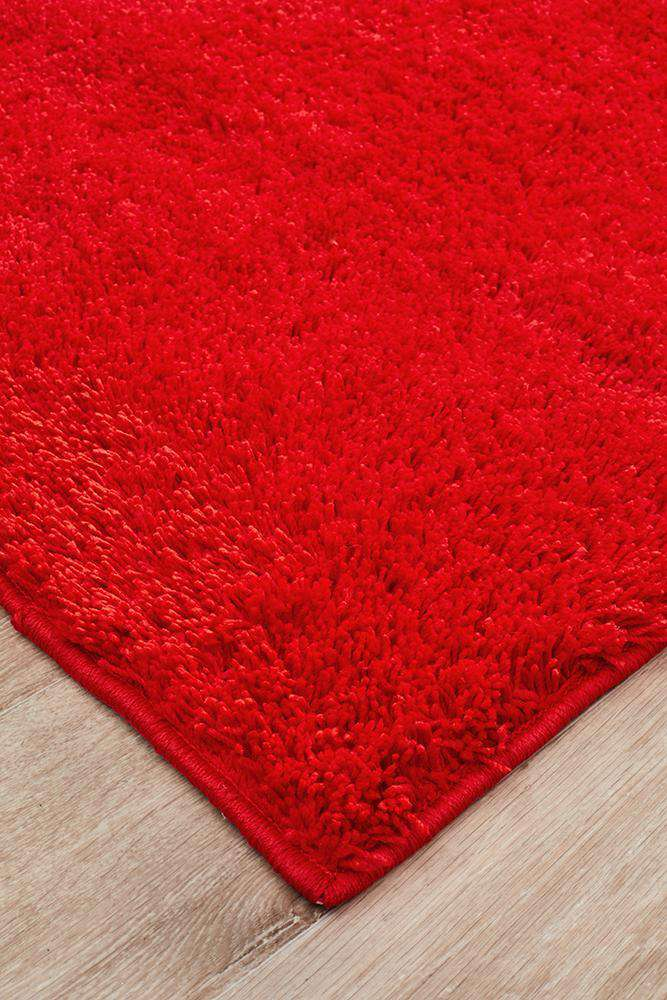 Soho Awesome Shag Rug Red