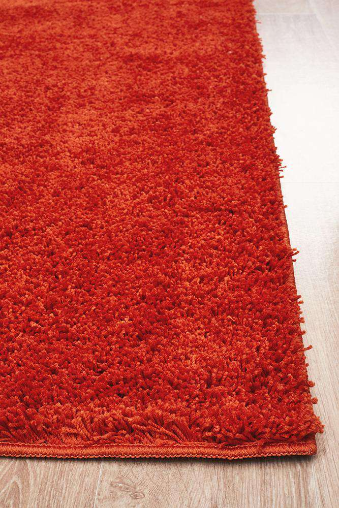 Soho Awesome Shag Rug Orange
