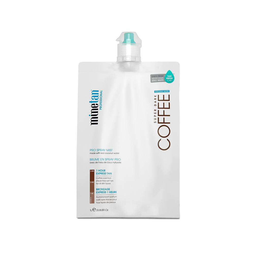 Minetan 1L Spray Tan Solution 1 Hour 2 HR Tanning Sunless