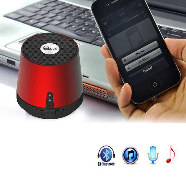 HYDANCE MAXI SOUND MP3 Player with Mini Bluetooth Speaker - SILVER - Desirable Home Living