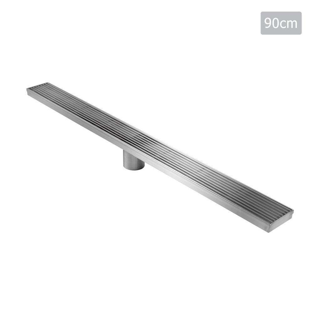 Heelguard Stainless Steel Shower Grate Drain Floor Bathroom 900mm