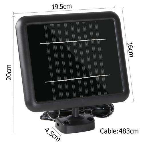 60 LED Solar Sensor Outdoor Light - Desirable Home Living