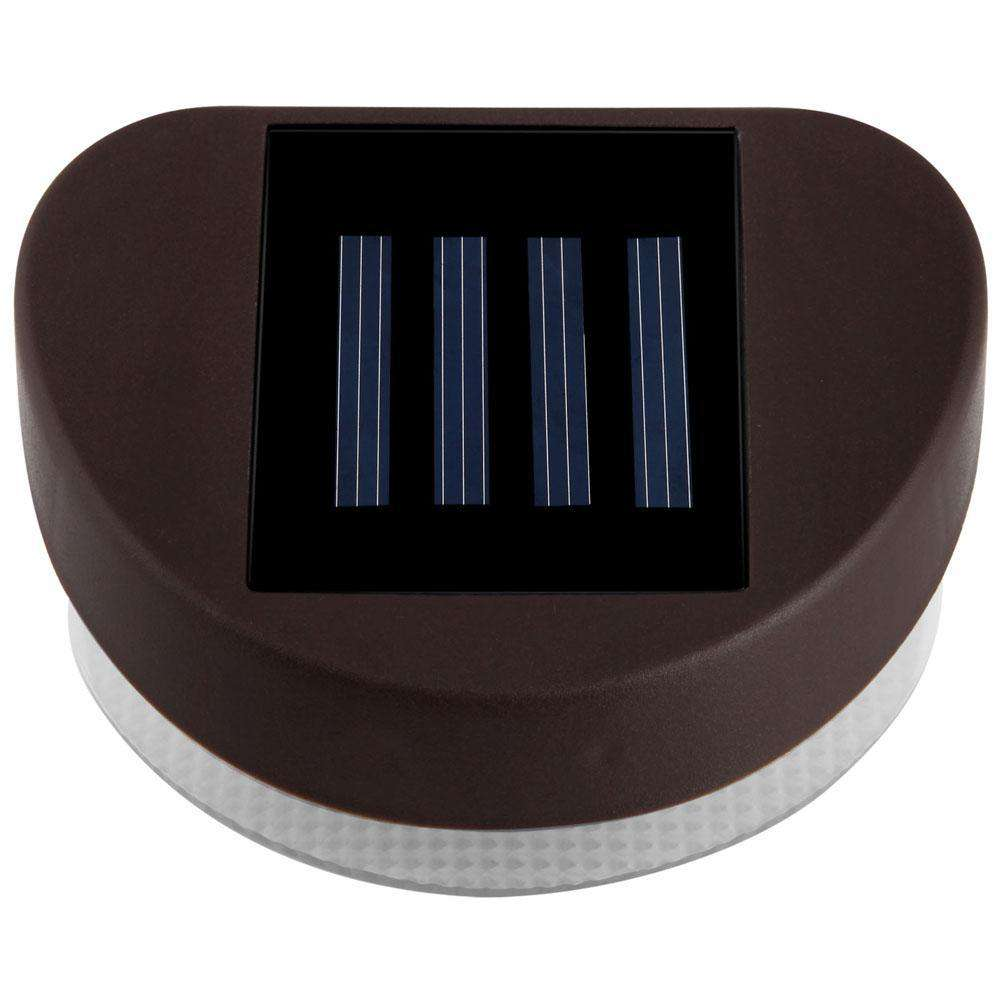 Set of 12 Solar Fence Light - Desirable Home Living