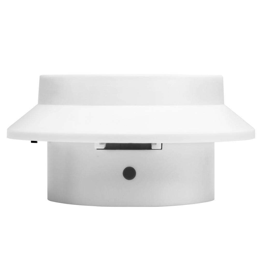 Set of 8 Solar Gutter Light - White - Desirable Home Living
