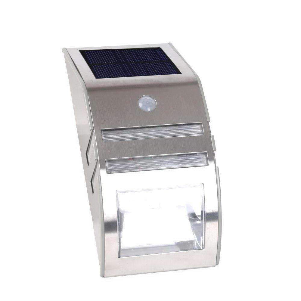 Set of 4 LED Solar Sensor Outdoor Light - Desirable Home Living