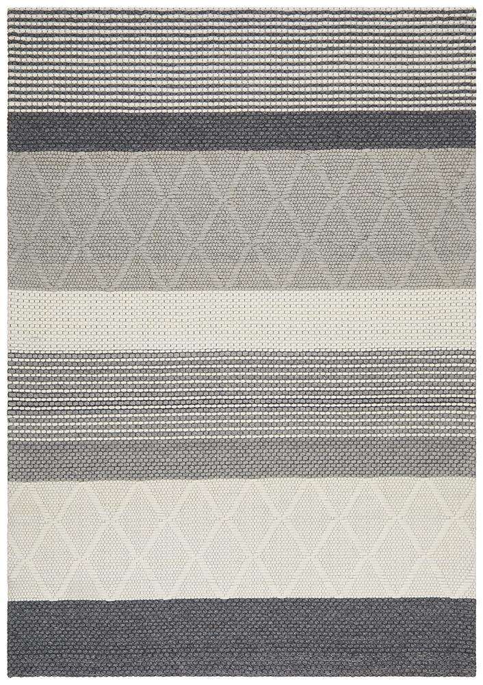 Studio Karlsson Wool Hatch Textured Rug