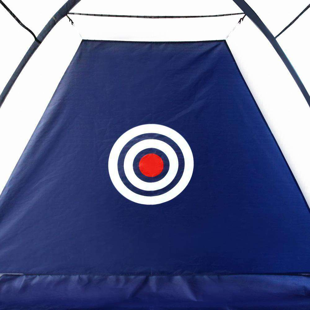 Portable Golf/Soccer/Cricket Training Target Driving Net Navy - Desirable Home Living