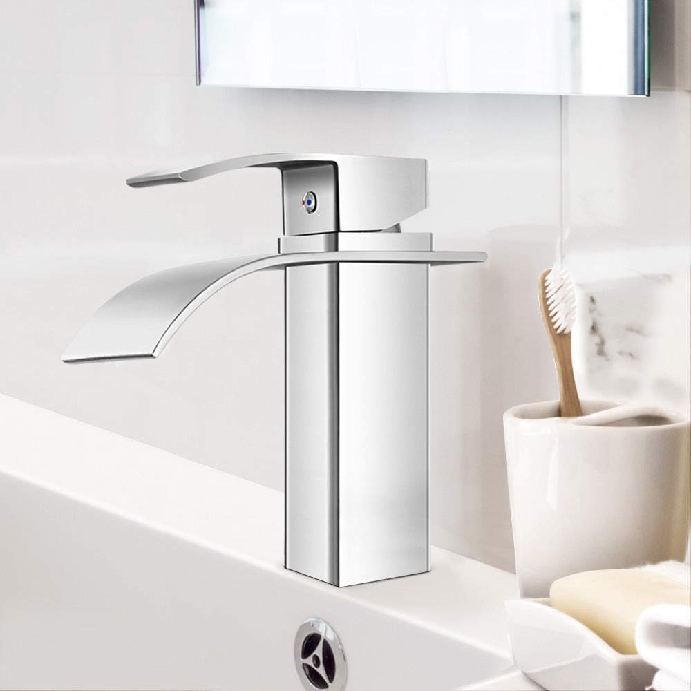 Cefito Mixer Tap Chrome WELS Silver