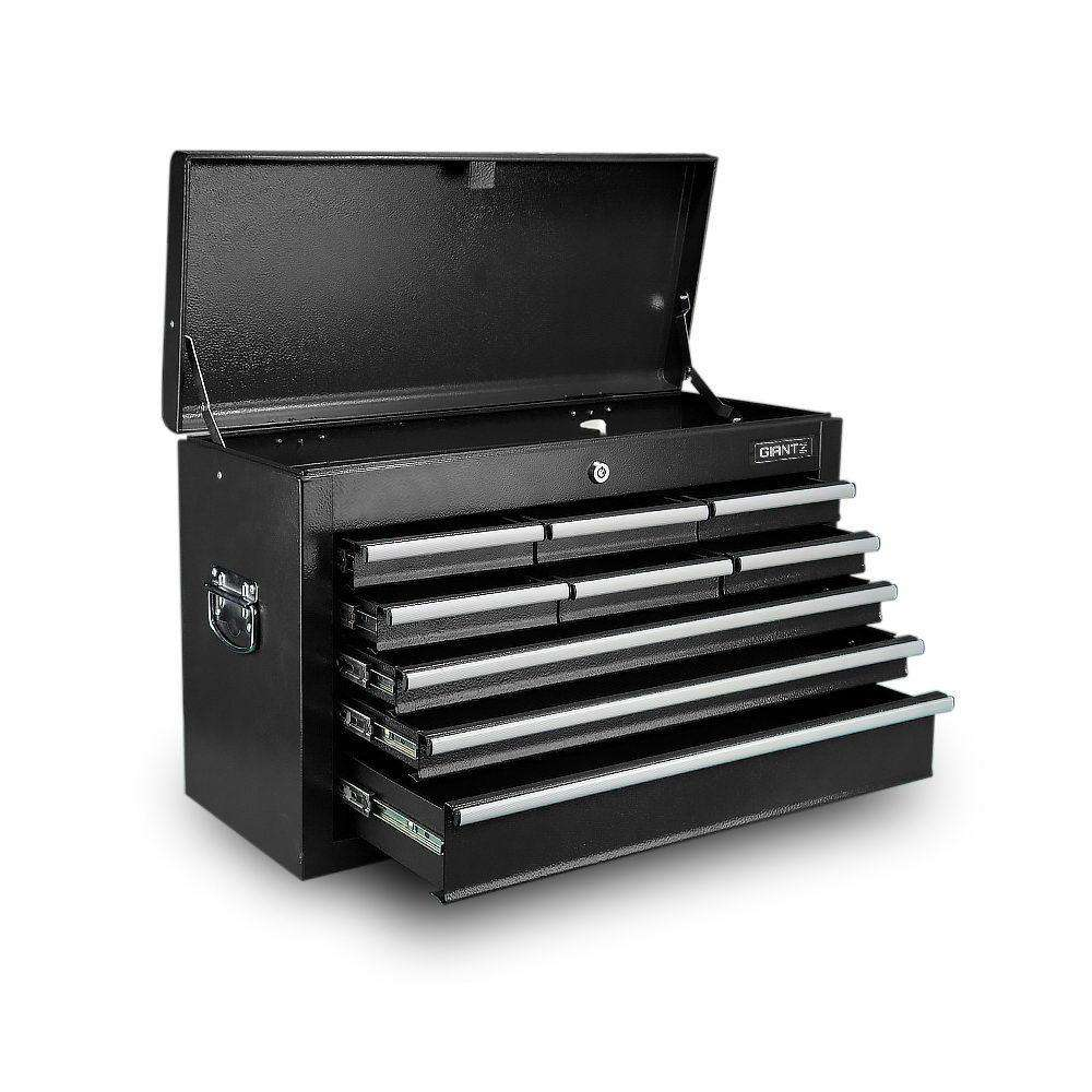 9-Drawer Tool Chest Box Black