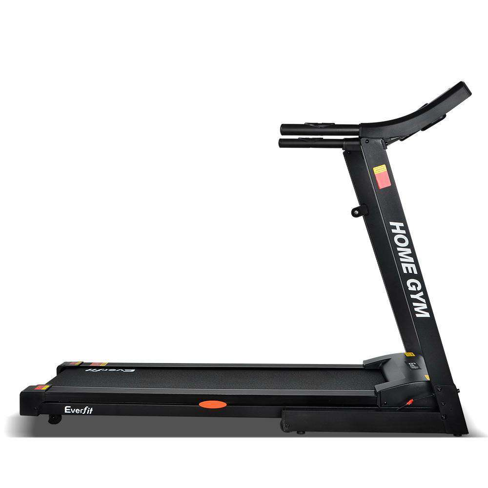 Home Electric Treadmill - Black