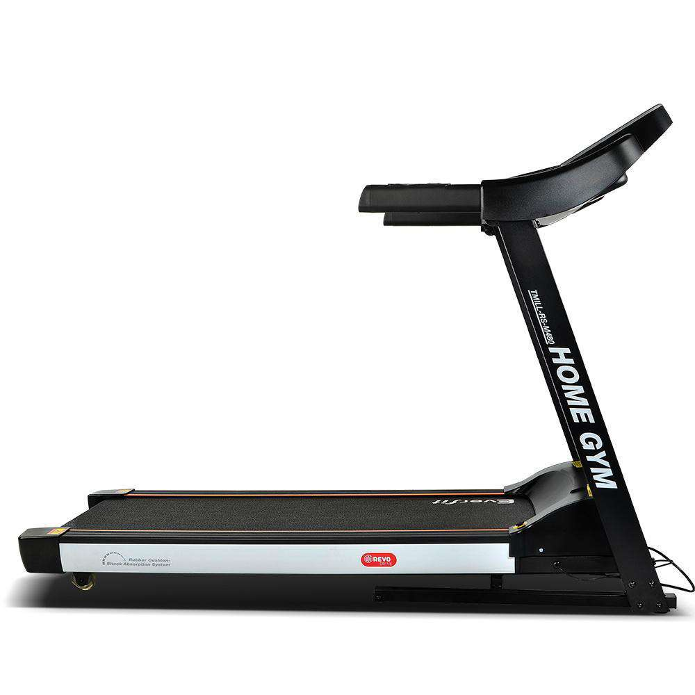 Everfit Electric Treadmill 48cm Running Home Gym Fitness Machine Black