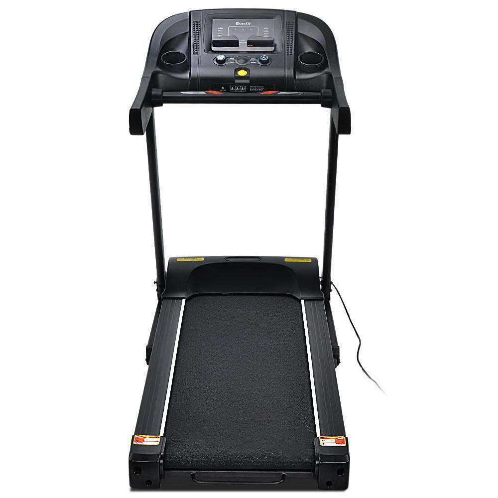 Everfit Electric Treadmill 43cm Incline Running Home Gym Fitness Machine Black