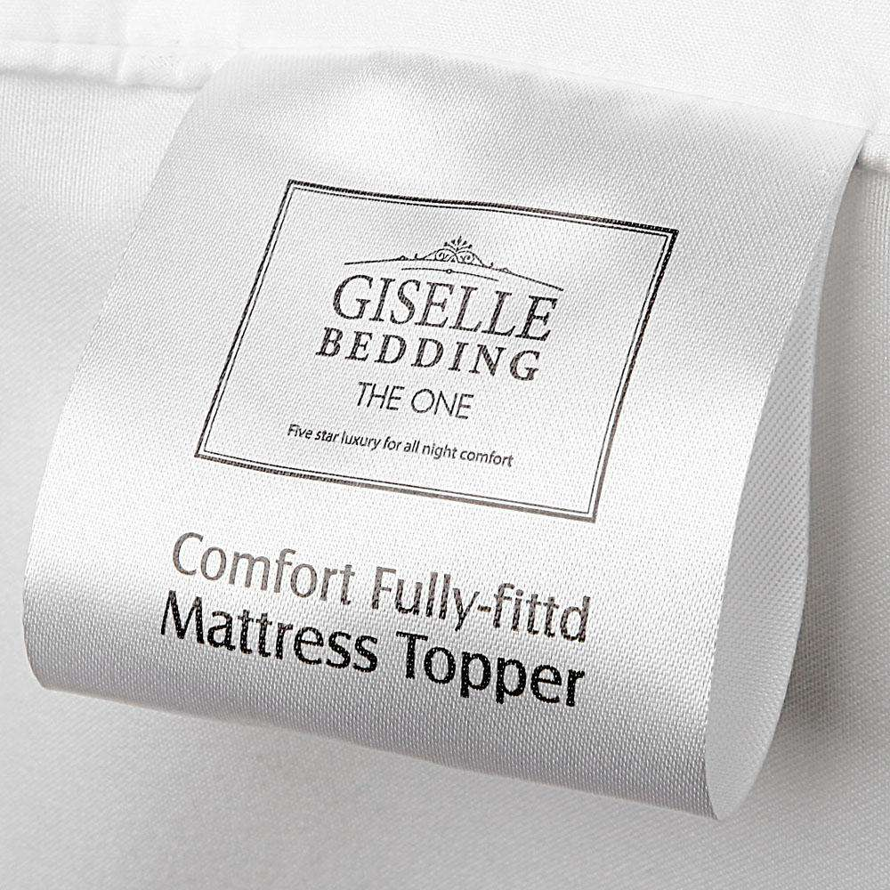 Giselle Bedding King Single Size Bamboo Matress Topper
